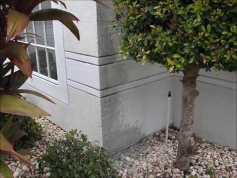 Tricky Stucco Repair-Melbourne Florida