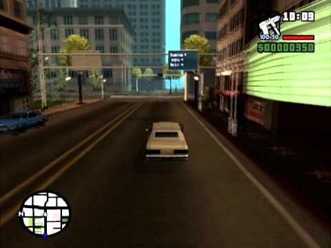Прохождение игры GTA san andreas #1 (С кодами)