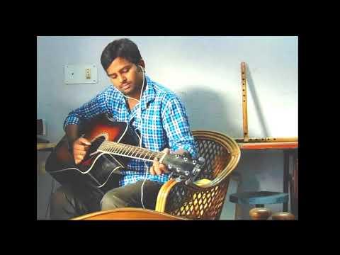 Siva Putrudu Songs   Chirugali Veechene   Surya, Vikram, Sangeeta, Laila   HD on my guitar