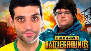 Assistindo Tecnosh jogando PUBG Battlegrounds, recorde mundial de kills
