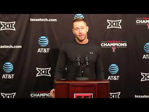 Kliff Kingsbury Previews Texas Tech-Houston Game