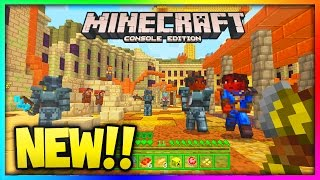 (NEW!!)Minecraft Console Edition Fallout 4 Mashup Pack Confirmed (Xbox360/PS3)