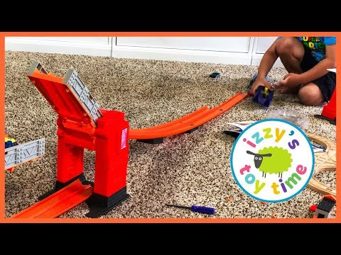 CARS FOR KIDS AND IGT FACE REVEAL! Hot Wheels Ramp Craziness!