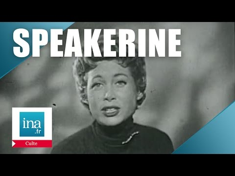 Speakerine 1956 Jacqueline Joubert | Archive INA