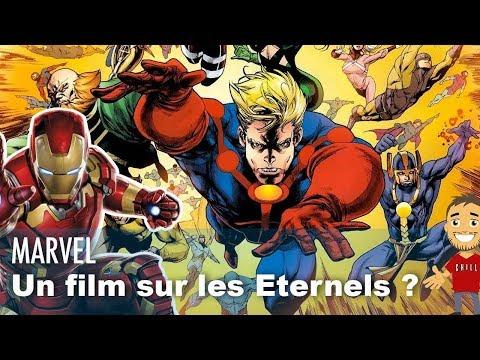 """MARVEL planifie un film sur """"LES ÉTERNELS"""" pour la PHASE 4 ?"""