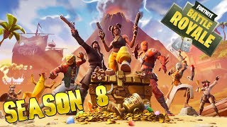 FORTNITE SEASON 8 - NEW BATTLE PASS & NEW MAP