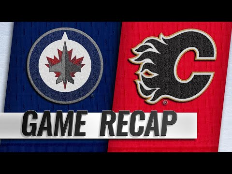 Flames score five in the 1st again, double up Jets