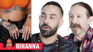 Tattoo Artists Critique Rihanna, Justin Bieber, and More Celebrity Tattoos | GQ thumbnail