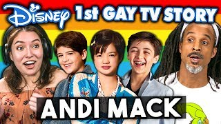 Generations React To Disney's 1st Gąy TV Character - Andi Mack Coming Out Story