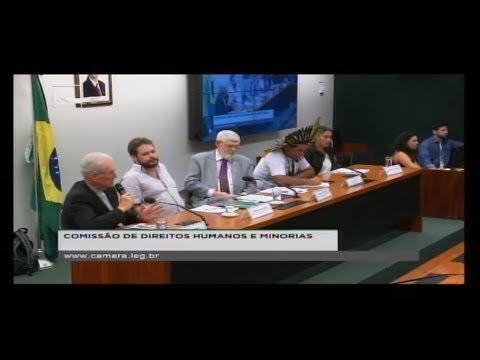 DIREITOS HUMANOS E MINORIAS - Ameaças contra defensores de direitos humanos - 13/06/2018 - 14:25