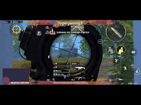 Watch Me Stream PUBG MOBILE On  Roger Gaming