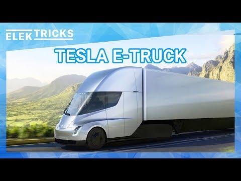 Tesla Elektro Truck Präsentation - Design, Reichweite, Preis