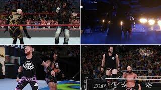 Video WWE 2K18 Tag Entrances - Golden Truth, #DIY, Slater & Rhyno, Undertaker & Kane, Lucha Dragons & More download MP3, 3GP, MP4, WEBM, AVI, FLV Oktober 2017