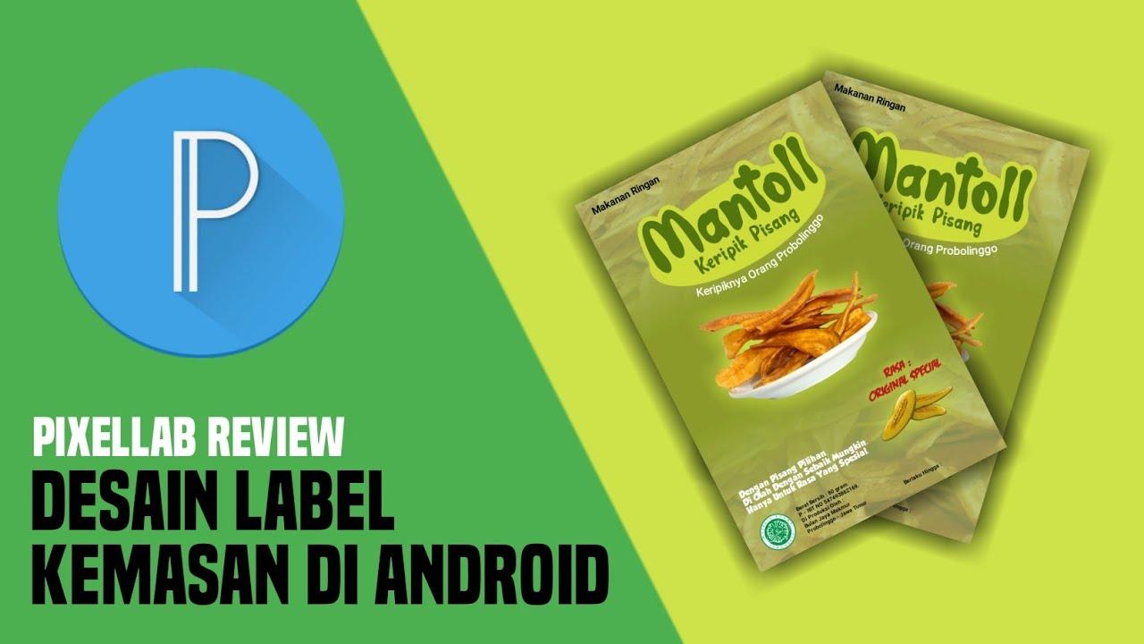 Desain Label Kemasan Di Android (REVIEW)