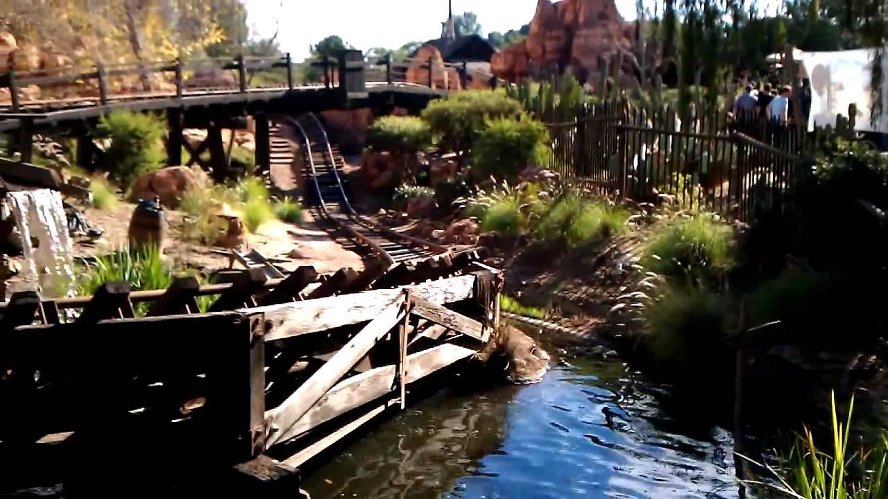 BANKSY Stunt at DisneyLand - YouTube