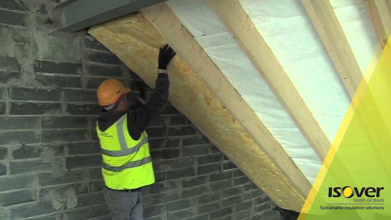 How To Insulate Timber Rafters Isover G3 Metac Touch