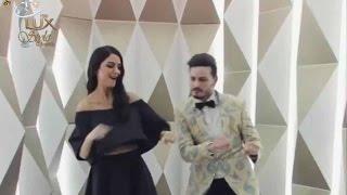 Maya Ali  and Osman Khalid Butt Swirling at LSA 2016