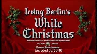White Christmas 1954 soundtrack