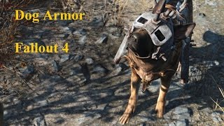 Fallout 4 Dog Armor | Armor for Dogmeat Location