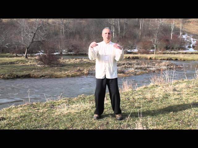 Tai chi Sung; structure and hold onto nothing