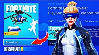 SEE THE NEW PACK PS FREE 0 on FORTNITE! GLITCH on 'PS4, PC, XBOX, SWITCH'