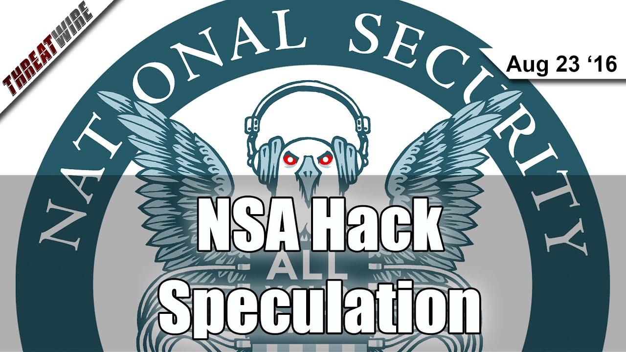 NSA Hack Speculation - Threat Wire - YouTube