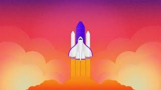 Rocket ( Spaceship ) Illustration tutorial | Adobe Illustrator