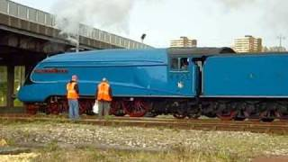 a4 pacific 4492 dominion of new zealand on the great britain iv railtour