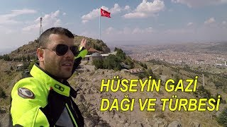 Ankara da Sönmüş Volkan | Hüseyin Gazi Türbesi | A