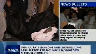 SAKSI: Pang. Duterte, sagot daw ang mga sundalo kung ipakukulong sa gitna ng anti-drugs campaign