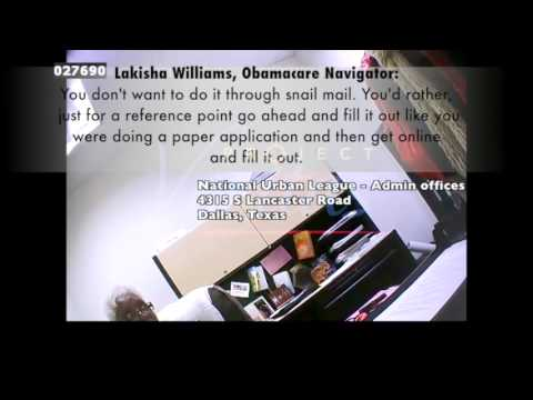 Obamacare Raw Video 2 (National Urban League Dallas)