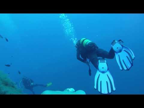 Sarah's dive in Cyprus