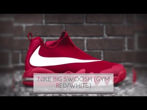 NIKE BIG SWOOSH (GYM RED/WHITE) SNEAKERS T
