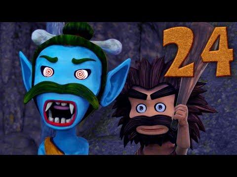 Oko Lele - Episode 24 -  The Cave - CGI Animated Short - Super ToonsTV