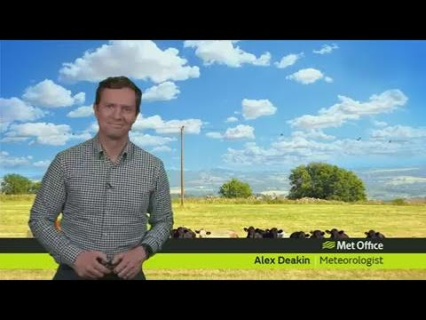Thursday afternoon forecast 27/07/2017