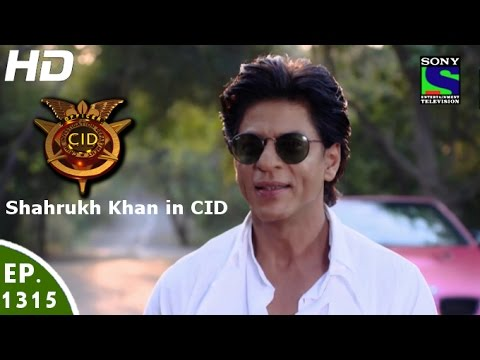 CID - सी आई डी - Shahrukh Khan in Dilwale - Episode 1315 - 19th December, 2015 l