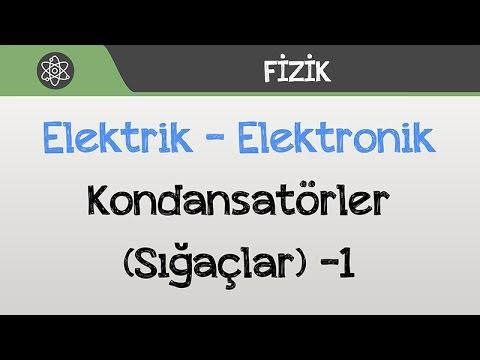 Elektrik / Elektronik - Kondansatörler (Sığaçlar) -1