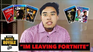 I'm Taking My Fortnite Talents to...#TheNoobDecision (Lebron James Spoof)