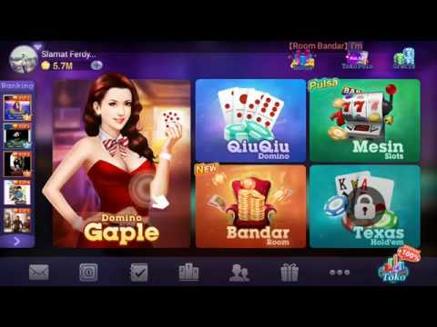 DOMINO Gaple Online GamePlay Android | Qiu Qiu