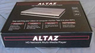 Altaz HD Multi-Media player unboxing
