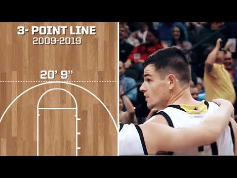 The History And Evolution Of The 3-point Line In College Basketball