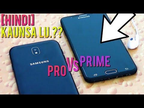 GALAXY J7 PRO VS GALAXY J7 PRIME [HINDI COMPARISION]