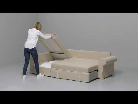 Ikea Lycksele Chauffeuse Convertible Youtube