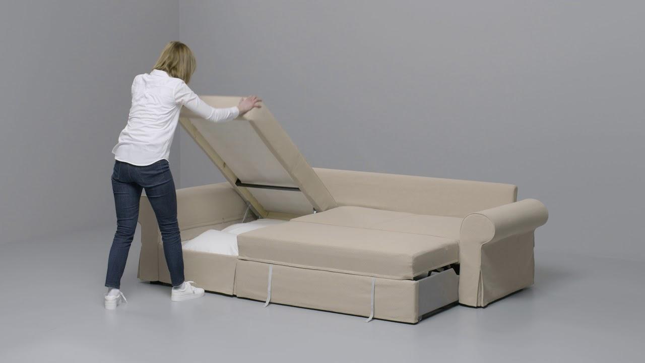 Ikea Backabro Convertible Avec Méridienne
