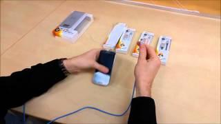 Nabíjecí a datový  kabel USB/Micro USB s oboustrannými konektory