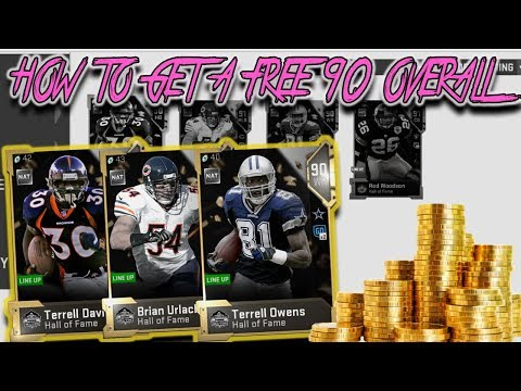 HOW TO GET A *MOSTLY* FREE 90 OVERALL PLAYER IN MADDEN 19 ULTIMATE TEAM