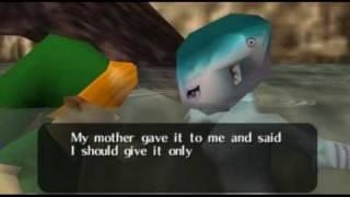 "Legend of Zelda Ocarina of Time Walkthrough 05 (7/7) ""Spiritual Stone of Water"""
