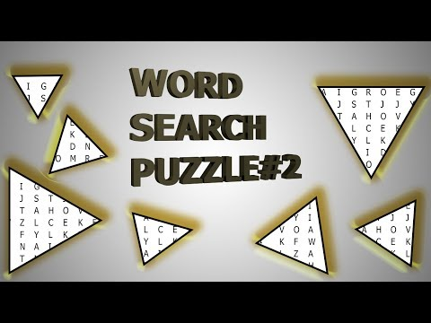Word search puzzles #2 I U.S. states I Train your mind