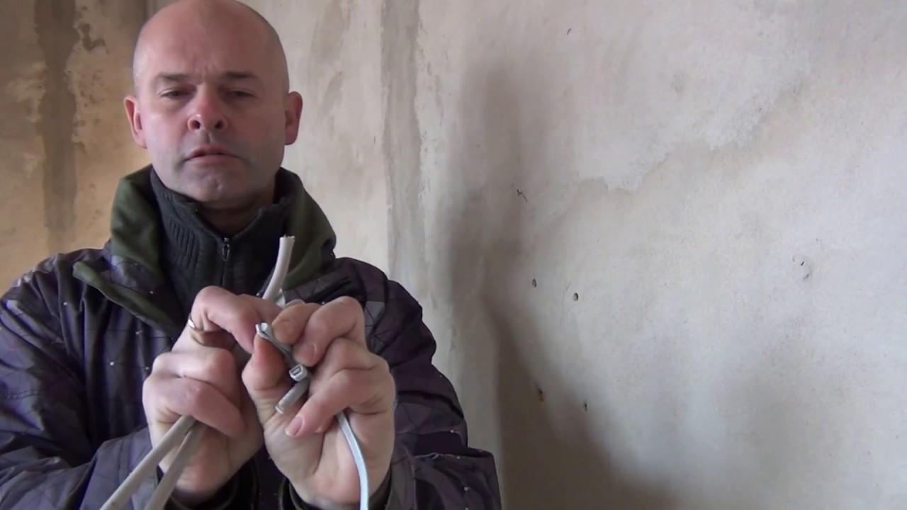 Применение анкерных и дюбель-хомутов EKF при прокладке кабеля и провода