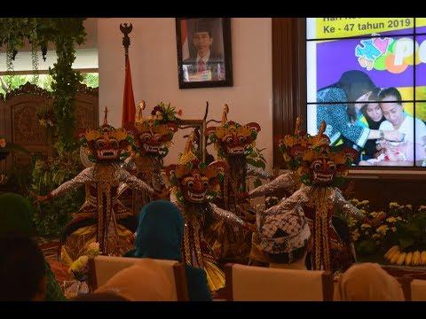 Tari Jaripah Di Pendopo Festival Bayi Posyandu Seni Banyuwangi